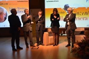 premio manzoni 2017 manfredi premiazione con milani