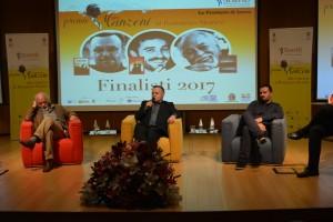 premio manzoni romanzo storico 2017 palco finalisti